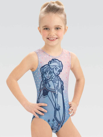 Frozen Princess Periwinkle Leotard - DSY170