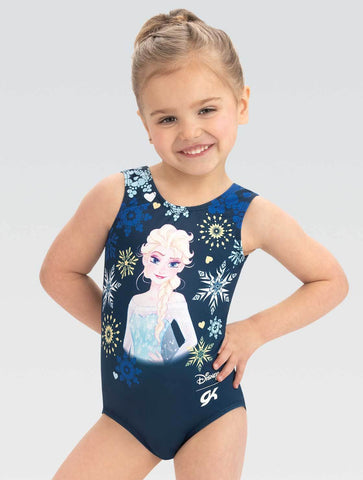 Frozen Navy Snowflake Leotard - DSY174