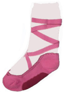 Pink Pointe Slipper Heavy Weight Sock