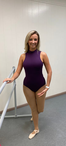 High Neck Leotard- SE1025W