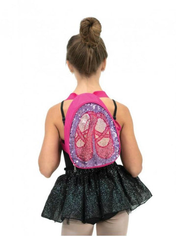 Reversible Glitter Backpack - B222C