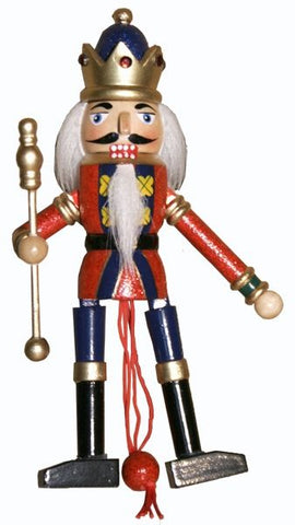 King Nutcracker Pull Puppet - NPP4