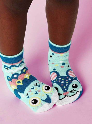 Owl & Mouse Socks
