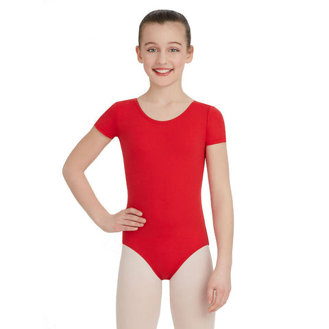 Child Short Sleeve Leotard - TB132C