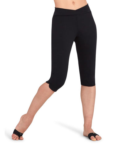 Ladies Knee Capri Legging - TB217W