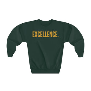 EXCELLENCE. Youth Crewneck Sweatshirt