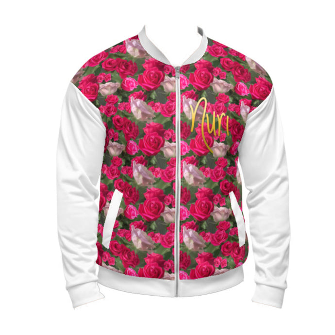 Nuri Rose Bomber All Over (White Sleeves)
