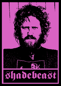 Sticker #06 - Brent Hinds (Mastodon), 6-pack