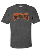 "Shadebeast ""Hellfire"" tee, dark heather"