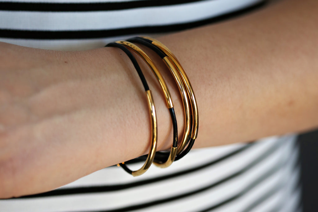 Original Wrap Bracelet (Gold/Black)