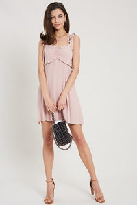 Ruffled Sweetheart Dress