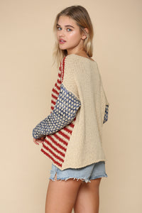 Americana Star Sweater