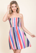 Rainbow Tube Dress