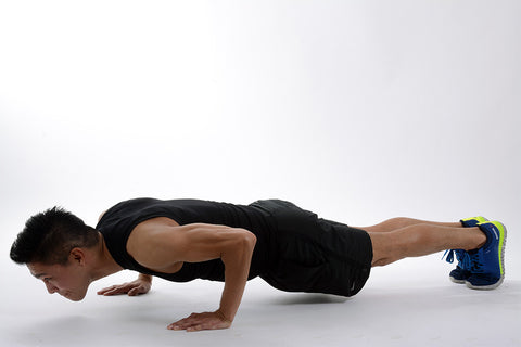 push-up bodyweight exercise