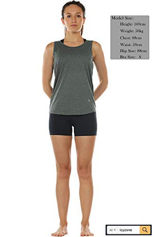 Open Back Strappy Athletic Tank Top - Exercise Earth