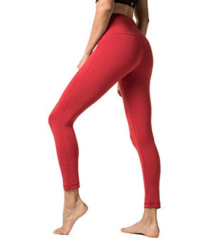 Yoga Pants Squat-Proof Leggings With Hidden Pocket - Exercise Earth