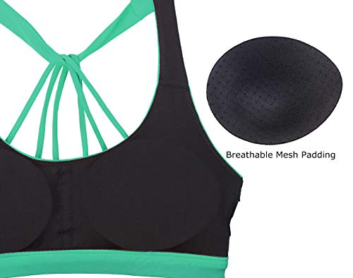 Strappy Sports Bra - Exercise Earth