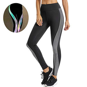 Glow In The Dark Rainbow Leggings - Exercise Earth