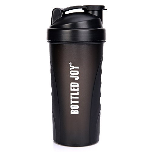 Protein Shaker Bottle, 100% Leak Proof 27 Ounce Bottle - Exercise Earth