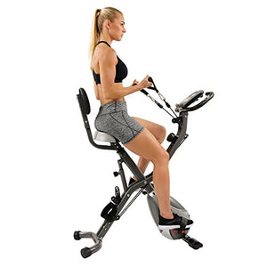 Foldable Semi Recumbent Upright Exercise Bike - Exercise Earth
