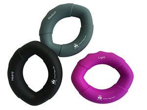 3 Hand Exercisers with Increasing Resistance - Exercise Earth