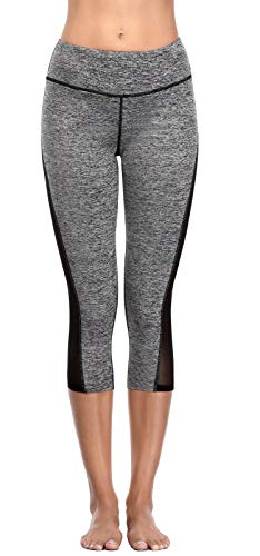 Women's Active Leggings With Mesh Sides - Exercise Earth