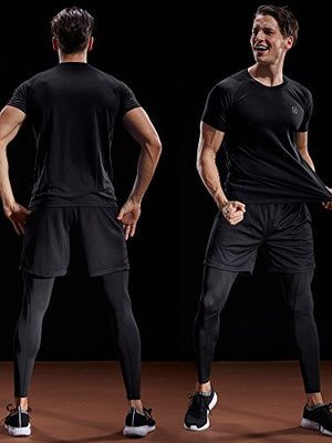 Men's Dry-Fit Athletic Shirts - Exercise Earth