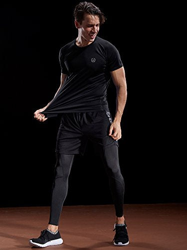 Men's Dry Fit Athletic Shirts - Exercise Earth