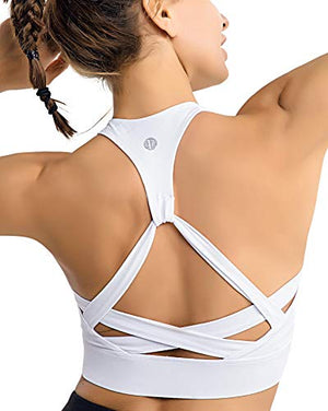 Racerback Yoga Sports Bra - Exercise Earth