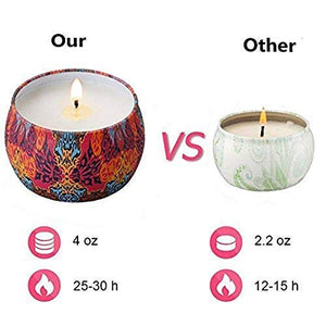 Natural Soy Wax Votive Candle Set - Exercise Earth