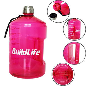 1 Gallon Motivational Water Bottle - Exercise Earth