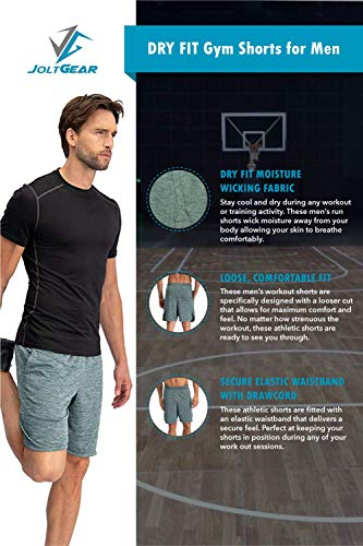 Men's Dry Fit Shorts - Exercise Earth