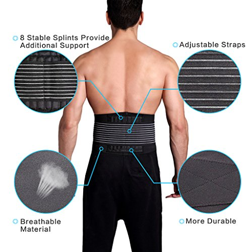 Breathable Back Brace - Exercise Earth