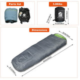 Ultralight Waterproof Sleeping Bag with Compression Sack - Exercise Earth