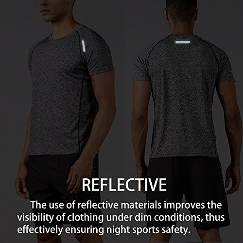 Men's Athletic Dry-Fit T-Shirt - Exercise Earth