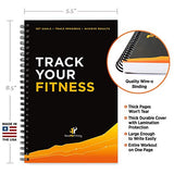 Workout Log Book & Fitness Journal - Exercise Earth