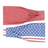 Women's Yoga Headband's - 2 Pack - Exercise Earth