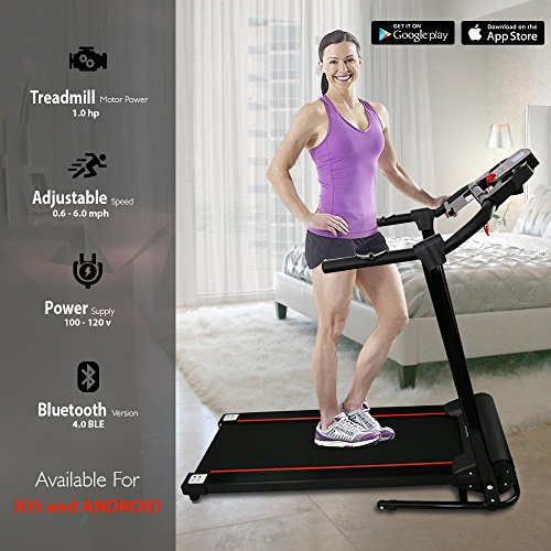 Smart Digital Folding Treadmill - Exercise Earth