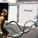 Battle Rope Workout For Cardio & Core Strength Training - Exercise Earth