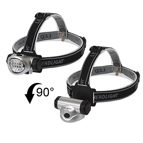 Headlamp Flashlight : 2-Pack - Exercise Earth