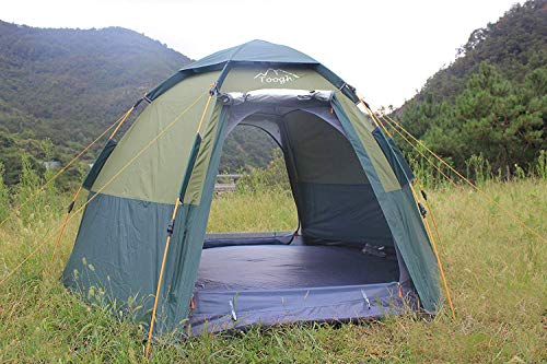 3-4 Person Pop Up Waterproof Camping Tent - Exercise Earth
