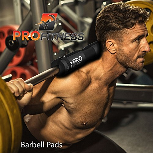 Barbell Squat Pad- Shoulder Support for Squats, Lunges & Hip Thrusts - Exercise Earth