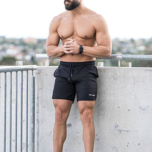 Men's Bodybuilding Shorts with Pockets - Exercise Earth