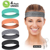 Absorbent Non-Slip Sweatbands - Exercise Earth