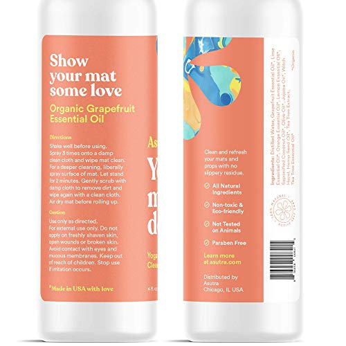 100% Natural and Organic Yoga Mat Cleaner - Exercise Earth