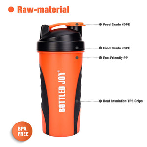 Protein Shaker Bottle - Exercise Earth