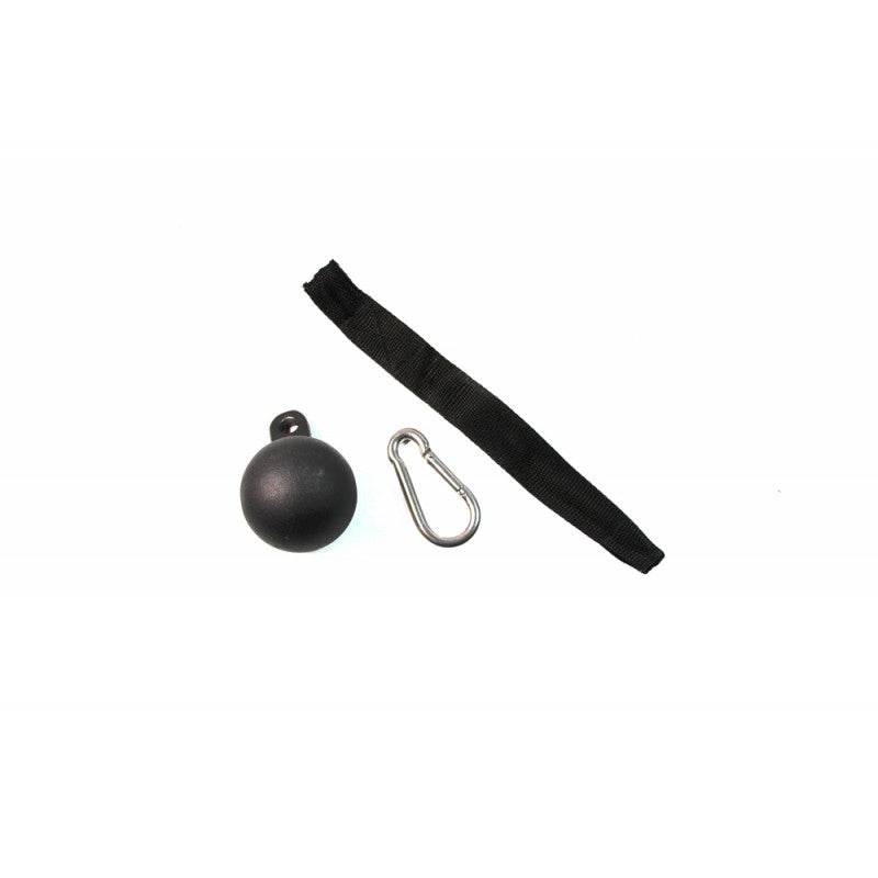Ball Grip Attachment With Nylon Strapping - Exercise Earth