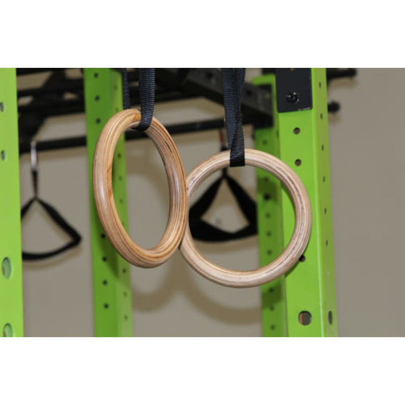 "Gym Ring - Wooden 1.25"" - Exercise Earth"
