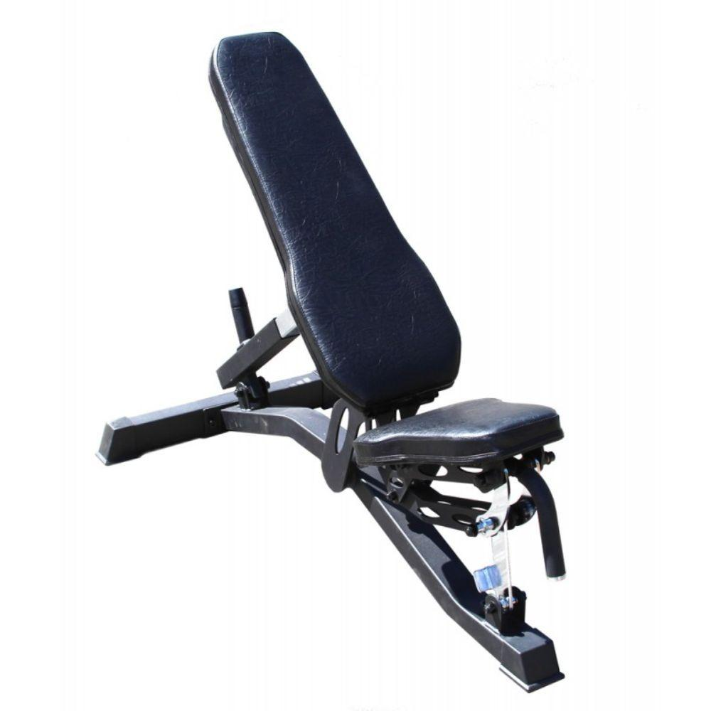 Gympak Commercial Adjustable Flat To Incline Bench - Exercise Earth