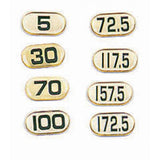 Deluxe-Poly Number Sticker - Exercise Earth